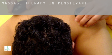 Massage therapy in  Pennsylvania